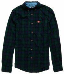 Groene Superdry Heritage Lumberjack Shirt