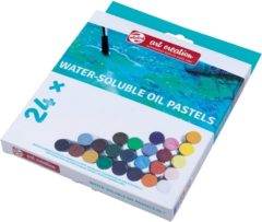 Talens Art Creation wateroplosbare oliepastels, doos met 24 stuks in geassorteerde kleuren