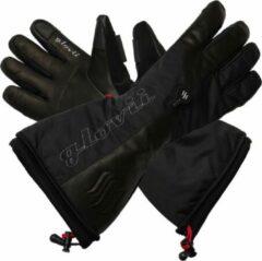 Zwarte Glovii Verwarmbare ski handschoenen