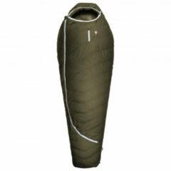 Grüezi Bag - Biopod DownWool Ice Compostable - Donzen slaapzak maat 185 cm, groen