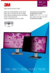 "3M High Clarity Privacy Filter for 22"" Widescreen Monitor (16:10) - Bildschirmfilter - 55,9 cm"