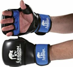 Blauwe Legion MMA Handschoenen Sparring Leer