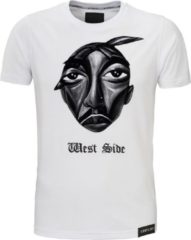 Witte Conflict T-shirt West Side White