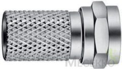 Hirschmann F-Connector 7.0 mm Male Metal Silver