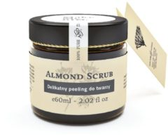 MakeMeBio® Almond Scrub Gentle Facial Scrub 60ml.