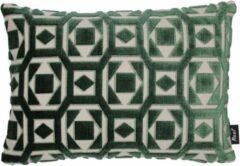 Groene Raaf sierkussens Raaf sierkussenhoes Saloua (50x35 cm)