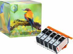 Ink Hero - 5 Zwarten - Inktcartridge / Alternatief voor de HP 364 364XL CN684EE CB316EE Photosmart 5510 5512 5514 5515 5520 5522 5524 5525 6510 6520 7510 7520 B110A B210 B109A C310 C5380 D5460 C6380 Officejet 4610 4620 4622 Deskjet 3520 3070A