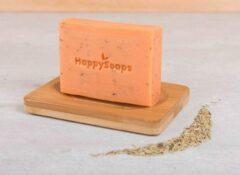 HappySoaps Happy Soaps - Body Bar Arganolie & Rozemarijn met zeephouder