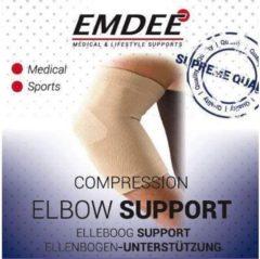 Emdee Elastische ondersteuning elleboog huidkleur maat L 1 Stuks