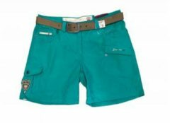 Killtec - Hira - Casual short + riem - Groen - Dames - Maat 40
