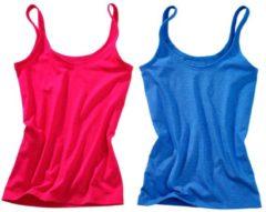 Trägerhemd Speidel 1x rot, 1x blau