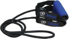 Fitness-mad Weerstandsband Sterk 1,3 M Rubber/nylon Donkerblauw