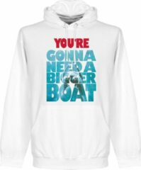 Retake You're Going To Need A Bigger Boat Jaws Hoodie - Wit - XXL