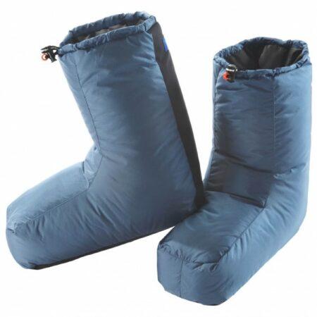Afbeelding van Blauwe Valandre - Olan - Donzen handschoenen maat S blauw/grijs