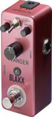 Zwarte Stagg Blaxx Flanger flanger/phaser pedaal