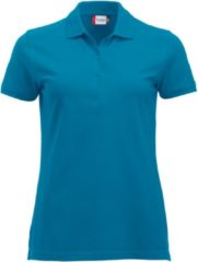 Clique New Classic Marion S/S Turquoise maat XL