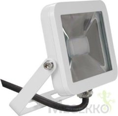 Perel LEDA4001WW-W Design led-schijnwerper - 10 w, warmwit