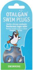 Blauwe Otalgan oordopjes swim - 6 stuks