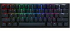 Ducky One 2 Mini RGB (MX Speed Silver, RGB leds, TKL, PBT Double Shot)