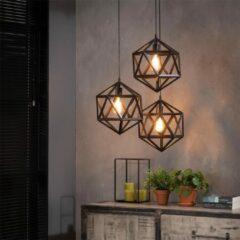 Zwarte Easy Furn Hanglamp Bohdan