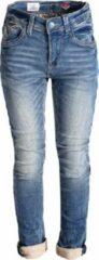 Blauwe Blue Barn Jeans - Dirty Stone - skinny fit jongens denim