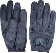 Swift driver leren handschoenen blauw | Maat S