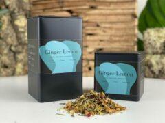 Moments Ginger Lemon - losse rooibos thee - gember citroen smaak - 150 gram - ± 60 kopjes