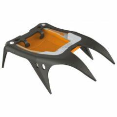 Petzl - Irvis Front Sections - Stijgijzer-voorkant zwart/oranje