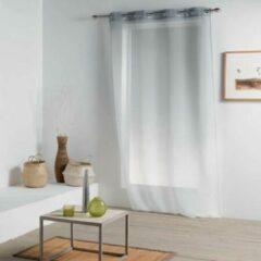 Livettti.NL Livettti | Vitrage - Net Curtain | 140x260 | Grijs | Polyester | 1625552