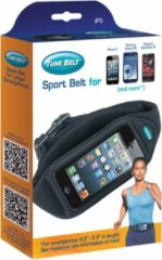 Zwarte Tune Belt IP5 iPhone 5 & 5S & Samsung Galaxy S3 Sport Heupband