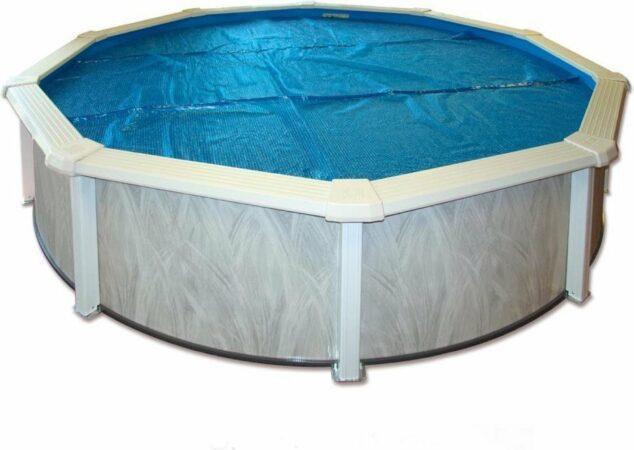 Afbeelding van Blauwe Interline Zwembad Interline zomerafdekking voor zwembaden, ? 5,50m
