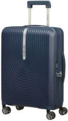 Donkerblauwe Samsonite Reiskoffer - Hi-Fi Spinner 55/20 uitbreidbaar (Handbagage) Dark Blue