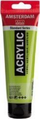 Royal Talens Amsterdam Standard acrylverf tube 120ml - 621 - Olijfgroen licht - halfdekkend
