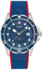 Zilveren Swiss Military Hanowa - Swiss Made - herenhorloge Neptune Diver 06-4315.04.003