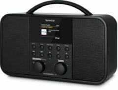 TechniSat TECHNIRADIO 5 IR Tafelradio met internetradio Internet, DAB+, FM WiFi Zwart