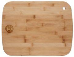 Bruine MasterChef bamboe snijplank - medium - 30,5 x 22,9 x 0,9 cm