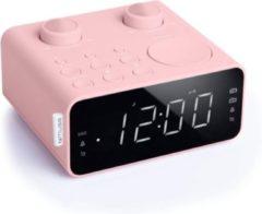 Muse Electronics Muse M-17 CPK roze Wekkerradio met groot display