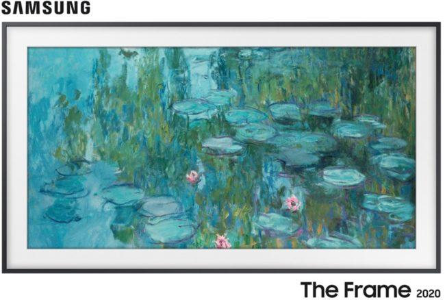 Afbeelding van Zwarte Samsung The Frame Qe32ls03t 4k Hdr Qled Lifestyle Tv (32 Inch)