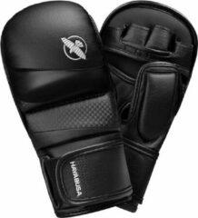 Hayabusa T3 Hybrid Gloves - 7 oz - Zwart - maat S