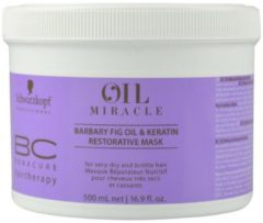 Schwarzkopf Professional Schwarzkopf - BC Bonacure - Oil Miracle - Barbary Fig Restorative Mask - 500 ml