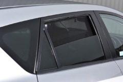 Zwarte Car Shades Carshades Mazda 3 5-deurs 2009-2014 autozonwering