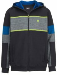 Marineblauwe Sweatvest Men Plus Marine::Blauw