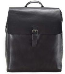 Scott Rucksack Leder 40 cm Laptopfach Strellson black