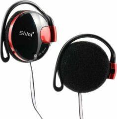 Hewec Shini Bass Stereo Bass Subwoofer Hoofdtelefoon Zwart