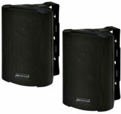 JB Systems JB-Systems K-30 - Compacte buitenluidspreker met muurbeugel - Zwart