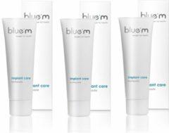 Bluem tandpasta - 3 stuks - Voordeelverpakking