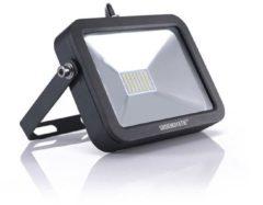 Zwarte Groenovatie LED Breedstraler - 10W - Waterdicht IP65 - 130x96x30 mm - Compact - Neutraal Wit