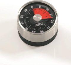 Zilveren Mechanische Timer - Ø 6 cm - OPTICO - Gefu