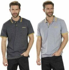 Stanley Poloshirt zilvergrijs maat XL