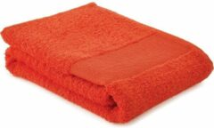 Arowell Sporthanddoek Fitness Handdoek 130 x 30 cm - 500 Gram - Oranje - 3 stuks